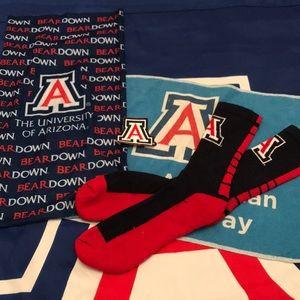 Other - University of Arizona Wildcats Socks Fan Set
